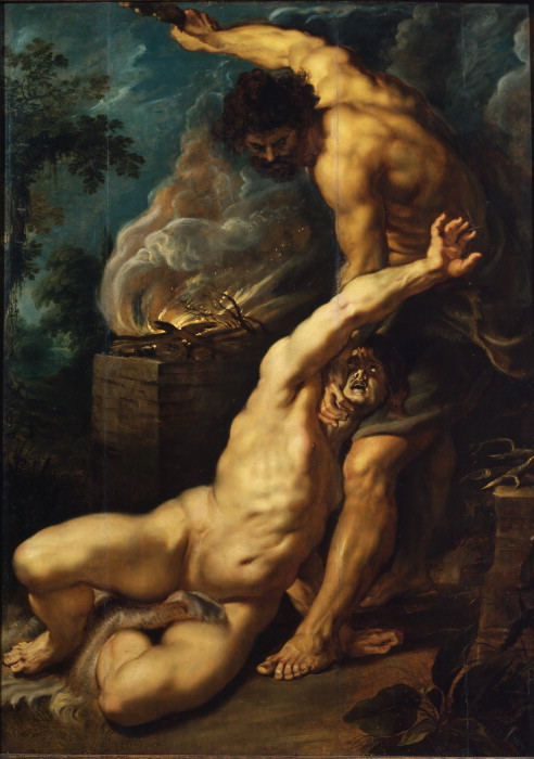 """Cain Slaying Abel,"" Rubens, Peter Paul"